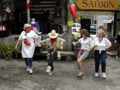 Line Dancing In The Street